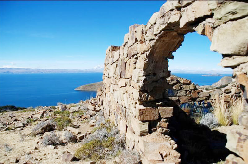 Isla Del Sol Inca Ruins