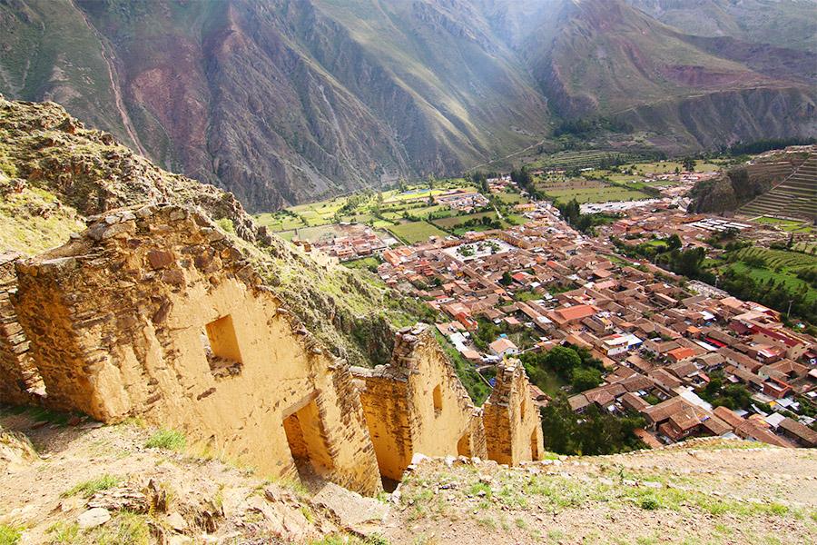 Peru Sacred Valley Ollantaytambo Hike Ayni Peru