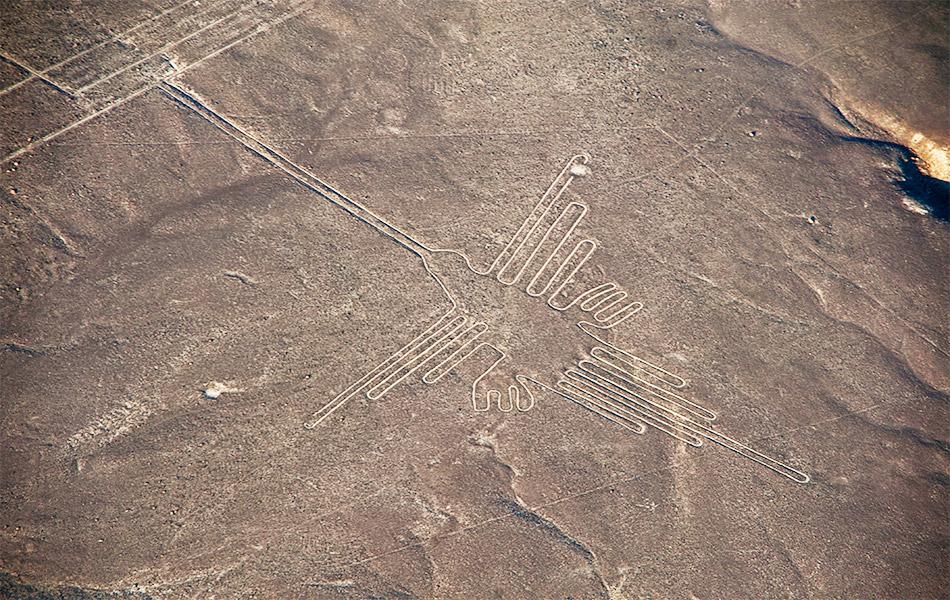 Peru Nazca Lines Hummingbird Ayni Peru