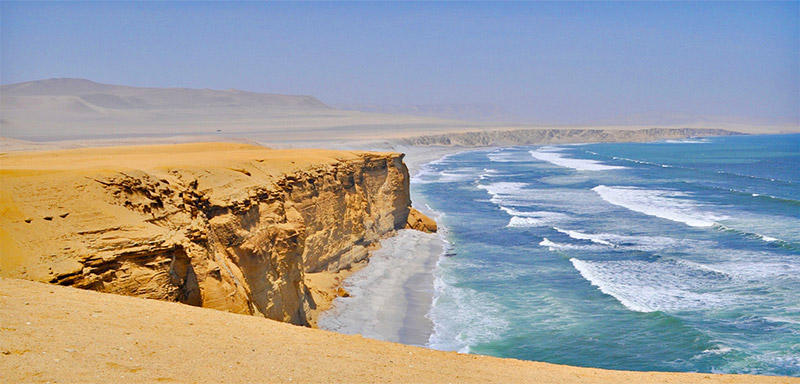 Peru Paracas Reserve Beach Ayni Peru