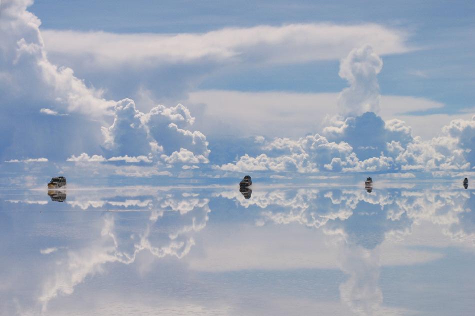 Bolivia Uyuni Salt Flats Mirror Ayni Peru