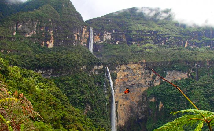 Peru Chachapoyas Gocta Falls
