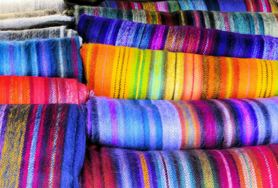 Textiles Ecuador Highlands