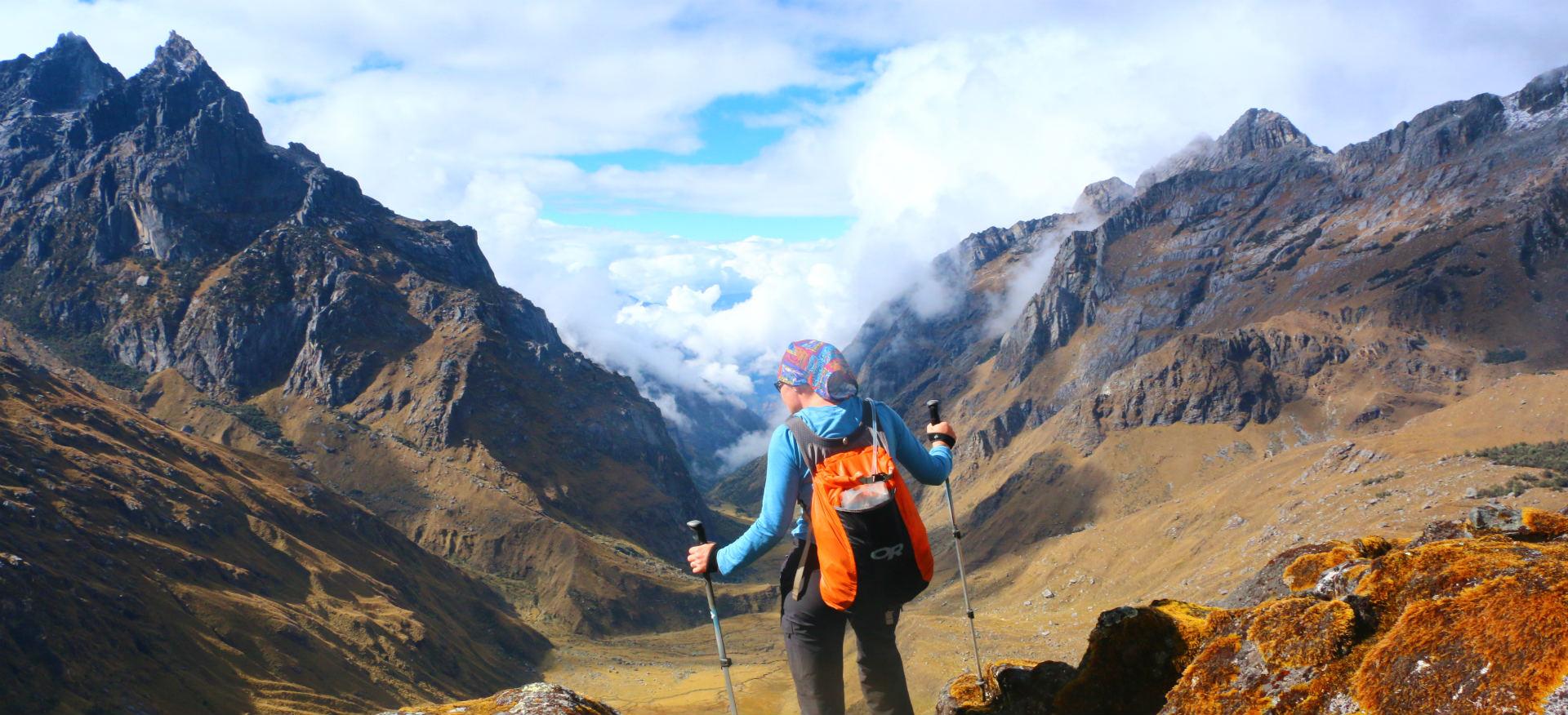 Peru Cusco Choquequirao Trek Ayni Peru