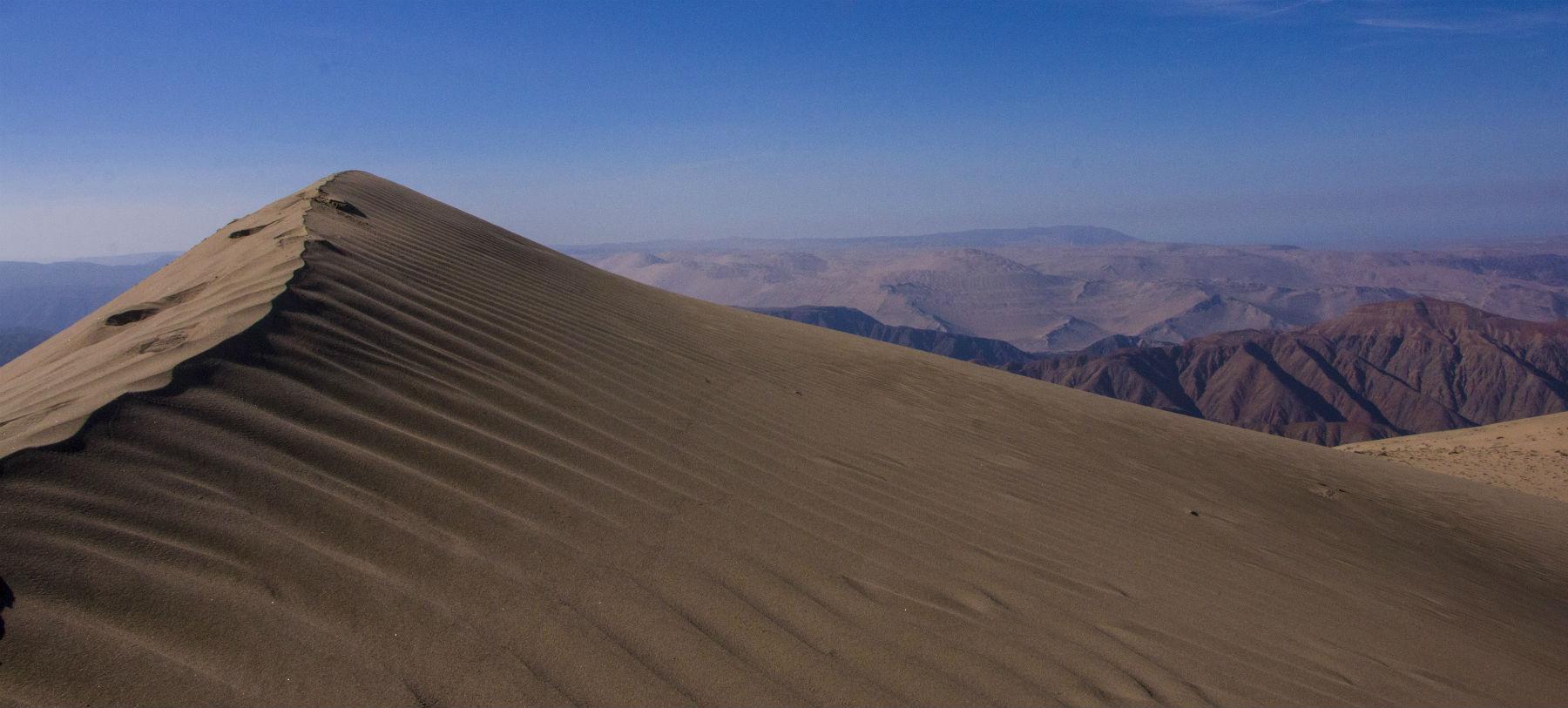 Cerro Blanco Sandboarding Nazca Peru