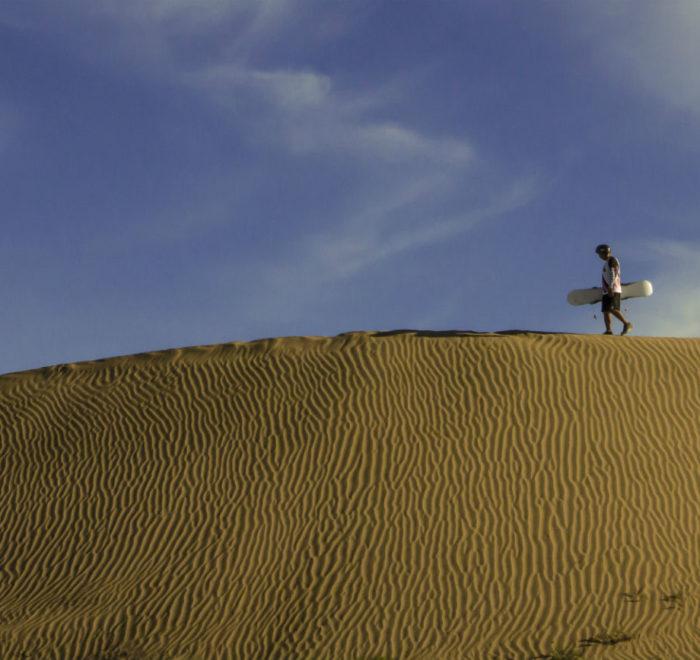 Sandboarding Cerro Blanco Peru