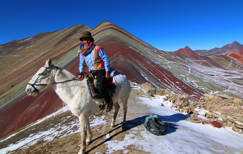 Ananizo And Rainbow Mountain Trek