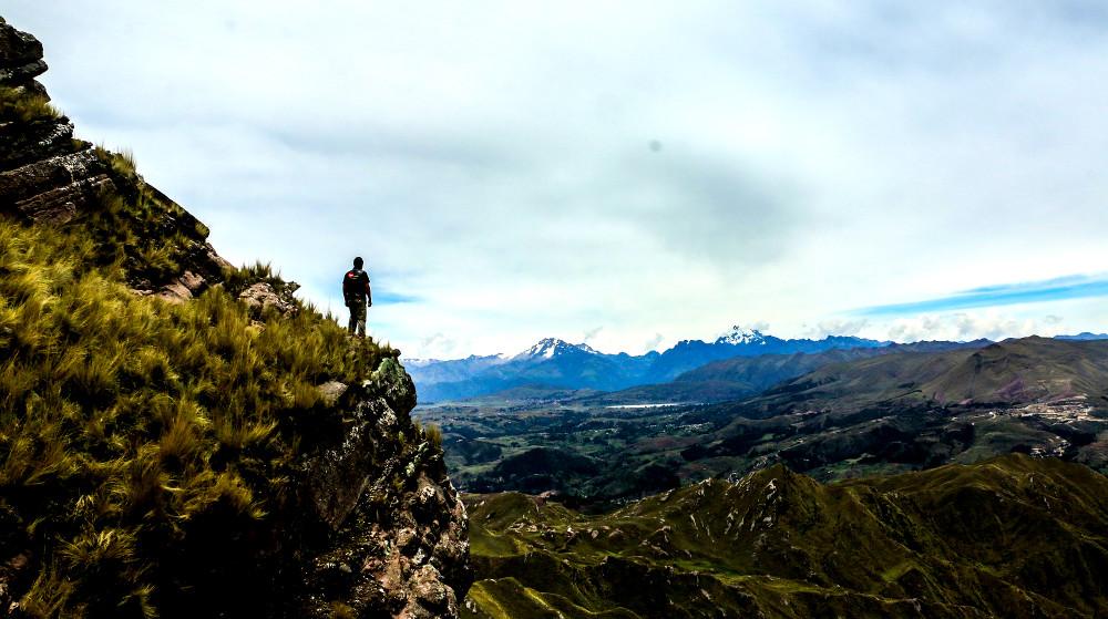 Simona Lookout Sacred Valley Peru