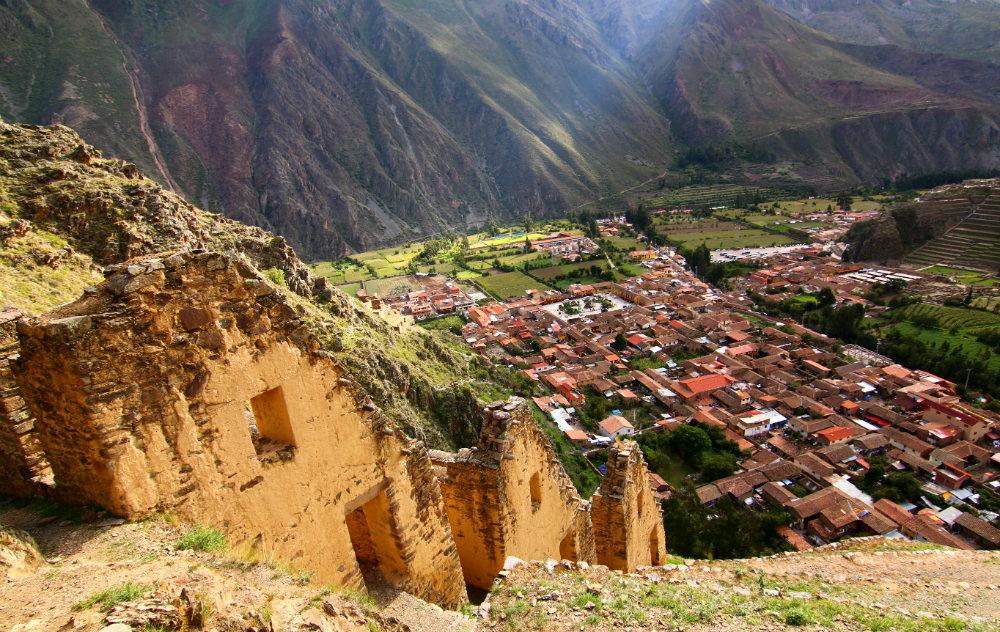 Sacred Valley Peru Ollantaytambo Hike