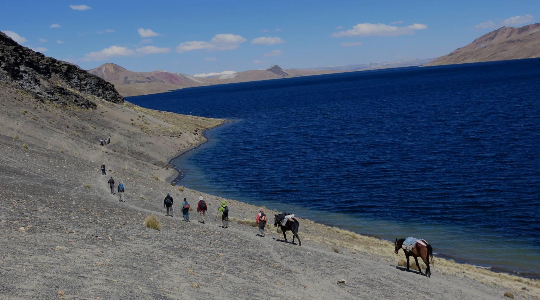 Lake Sibinacocha Peru trekking